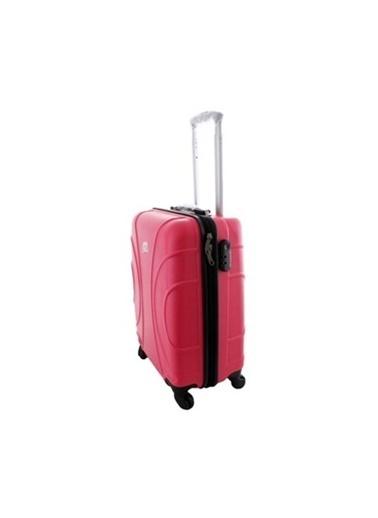 ÇÇS Çanta Valiz Pembe
